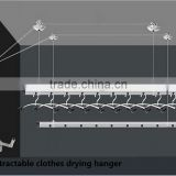Retractable Clothes Line Clothes Drying Hanger