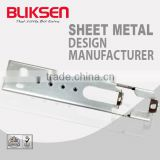High quality metal hidden floating wall shelf bracket