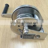 LIFTKING hand boat winch with steel cable
