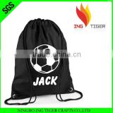 2016 Hot Sales Promotion Recycled OEM Manufacturer For Sport Nylon Drawstring Backpack Brand Names