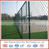 PVC coated chain link sport ground wire mesh fence