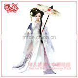 China mini fairy plastic doll toy for collection