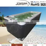 JY8602 high quality outdoor 6m length inground fiberglass large swimming pool