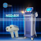 diode laser in motion hair removal machine painless and forever hair removal vertical beauty device