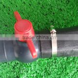 2016 China quick coupling good quality with competitive price garden irrigation lay flat PE hose