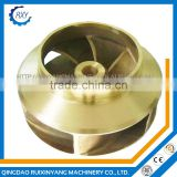Customized precision casting metal brass impeller