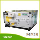 Cooling/heating heat recovery ventilation system, energy saving air handling unit for hvac system