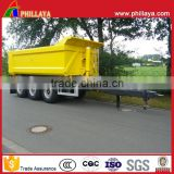 Full Drawbar Type Agricultural Tractor Tipper Trailer Farm Dump Truck Trailer With Hydraulic Cylinders