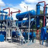 Cost Report of waste tire recycling pyrolysis plant