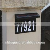 FQ-541 Wall-Mouted Address Plaques,solar House Number Led Light,