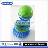 Hydraulic dishwashing brush cleaning liquid added bursh/hydraulic washing brush/automatic hydraulic liquid washing brush