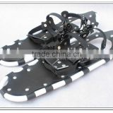 8x27(22x69cm) non slip snowshoes for safer walking on snow Aluminium pivot PU binding alloy crampon shoes (HS-SS1 27inch)