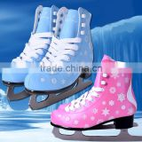 2017 new style Fixed size ice skating shoes for ice rink rental & Ice Hockey Skates