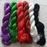 Hand-dyed natural mulberry silk embroidery floss threads sewing thread