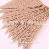 15 PCS Burlap Banner DIY Party Decoration for Wedding, Birthday ,Baby Shower