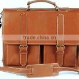 premium quality leather business briefcase leather bags 2017