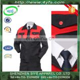 Wholesale Labor Workwear Sets Uniform High Quality Engineering Workwear Uniforms Industrial Uniform of 100% Cotton/TC/CVC