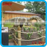 Theme park equipment animatronic dinosaur baryonyx