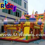 2014 good price gonflable inflatable game