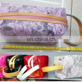 Flower pattern PVC Travel Cosmetic Bags