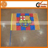 Cheap Polyester Custom Hand Flag For Outdoor Sports Game