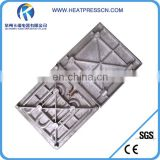 Heating platen for heat press machine