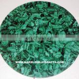 Round Malachite Table Tops