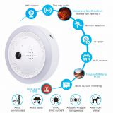 2018 New Technology Fire Smoke/Dangerous Gas Alarm Network CCTV Security WiFi HD IP Camera
