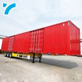 Made In China Tandem Axle Trailer Suspension Van Cargo Semi Trailer Small Cargo