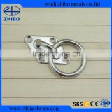 Stainless Steel Boat Diamond Eye Plate 6mm With Ring for Shade Sail Accessories
