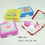 hot selling contact lens cleaning case, contact lens cleaning case,3d cute contact lens case