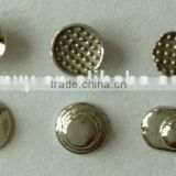 Dental supply orthodontic dental lingual button/ round base metal lingual button with CE,FDA,ISO