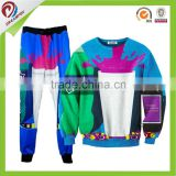 custom sublimation two color blank sweatshirt, full print sweatshirt, hoodies print all over print