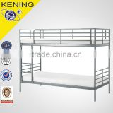 metal bunk bed with Comfortable ladder