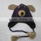Animal Hat(Purple Bull Dog)