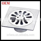 Stainless Steel Auto-Close Floor Drain 120x120mm