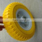 2.50-4 pu foam tire / rigid pu foam wheel 2.50-4