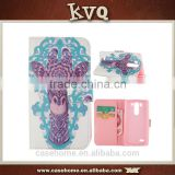 Best selling customized pattern printing pu mobile phone case for LG G3 Mini
