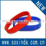 Promotional Wrist Band USB Flash Drive