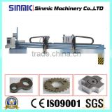 iron pipe cutting machine cnc duct plasma cutting machine Manufacturer
