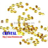 Manufacturer of glass chaton machine cut pointed back rhinestones, foiling back quality crystal stones