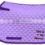 Saddle pad&saddle mat&horse saddle pad&&horse product&saddlery&equestrian product&numnah