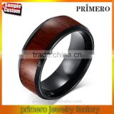Man's Tungsten Carbide Wedding Rings Top Quality Engagement Wood Desig