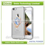 clear fashion phone case for oppo r7 with finger ring for oppo r7 case for oppo r7 covers