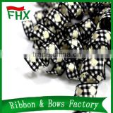 shoelaces custom printed grosgrain ribbon