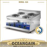 HRQ-64 Commercial Electric Hotplate Cooker (4-plate)                                                                         Quality Choice
