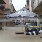 custom adveritising promotion printed tent, dye sublimation print advertising tent folding tent with 3 walls