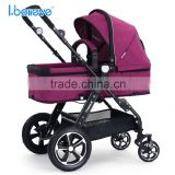 High Quality New Version EN1888/ASTM Baby Stroller 3 in 1 with big wheels