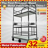 kindle 2014 new durable folding professional customized mini trolley cart shopping cart for sale