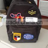 new arrival leisure oxford Backpack with fashion patch
